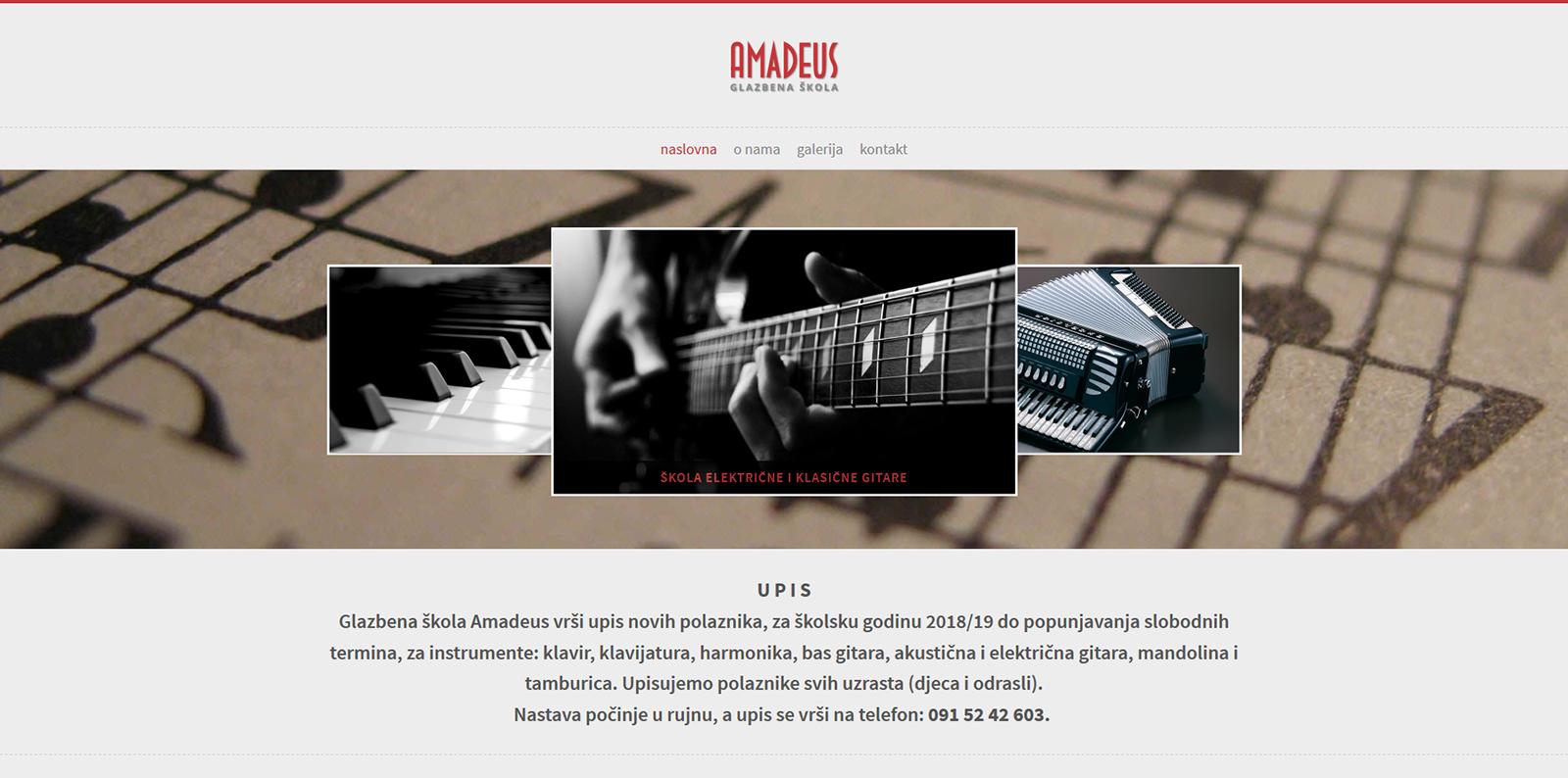 Dizajnist_Glazbeno ucilište Amadeus